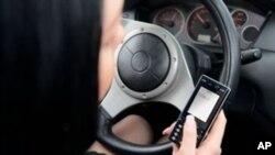 驾车者,手机短信可以等一等