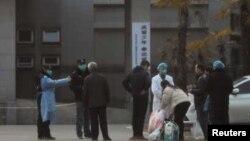 Hình minh họa một hiện trường dịch viêm phổi ở Trung Quốc.