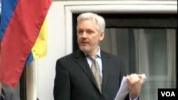 Julian Assange está refugiado en la Embajada de Ecuador en Londres desde 2012.