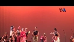 Pertunjukan 'Gigi Art of Dance' di AS