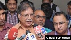 وفاقی وزیراطلاعات پرویز رشید