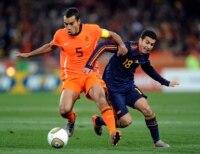 Spain vs. Netherlands.