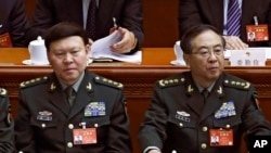 涉贪自杀的张阳上将等近年被调查或开除的中国将领(28图)