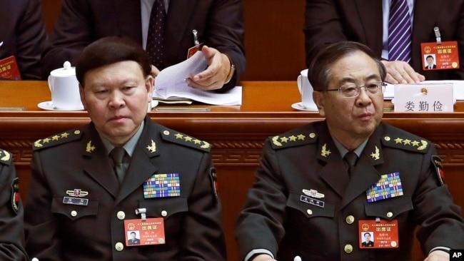 房峰辉以及其他8名被中共否定的解放军上将(32图)