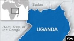 Warga Rwanda (di selatan Uganda) meminta suaka ke Uganda akibat kekerasan etnis.