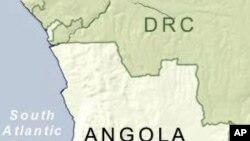 Ramani ya Angola.