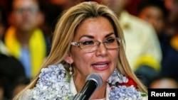 El gobierno de la presidenta interina Jeanine Áñez solicitó el domingo 26 de enero de 2020 la renuncia de todos los ministros.