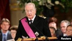 比利時國王阿貝爾二世登基20年後讓位