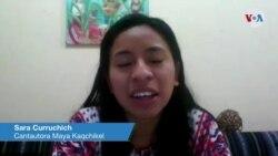 Cantautora guatemalteca recibirá el reconocimiento