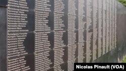 Mur des victimes de Gisozi
