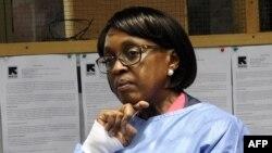 Giám đốc khu vực Phi châu của Tổ chức Y tế Thế giới Matshidiso Moeti.