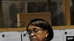 Mkurugenzi wa kanda ya Afrika katika shirika la afya duniani WHO, Bi. Matshidiso Moeti.