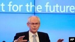 Chủ tịch Hội đồng Châu Âu Herman Van Rompuy