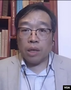 中国政治评论人士吴强博士。(美国之音中文网2020年9月2日资料)