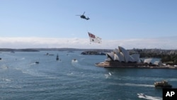 Australian Navy Celebrates 100th Anniversary