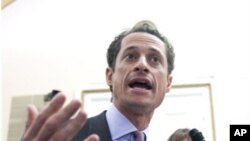 New York Democratic Representative Anthony Weiner