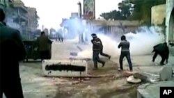 شام : حکومت مخالف مظاہرے جاری