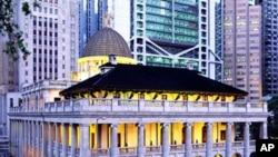 香港立法会大楼外景