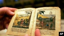 Robinson Crusoe kitabından birkaç sayfa