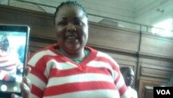 Omunye walabo abagwethiweyo uNkosikazi Yvonne Musarurwa.