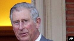 英國皇儲查爾斯王子(威爾斯親王)訪問華盛頓