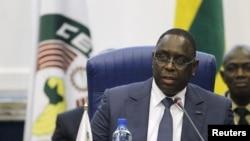 Le président du Sénégal Macky Sall à Abuja, le 16 décembre 2015. (REUTERS/Afolabi Sotunde)