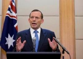 FILE - Australian Prime Minister Tony Abbott, April 12, 2014.