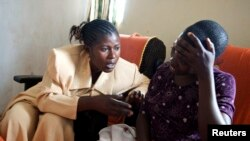 Congolese counselor and rape victim in the HEAL Africa hospital in Goma, DRC. (File photo).