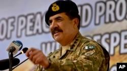 Panglima militer Pakistan, Jenderal Raheel Sharif (foto: dok).