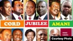 Wagombea wakuu wa urais Kenya