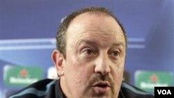 Pelatih Inter Milan Rafa Benitez tidak memainkan sebagian pemain utama untuk menghadapi turnamen Piala Dunia Antar Klub di Abu Dhabi akhir Desember.