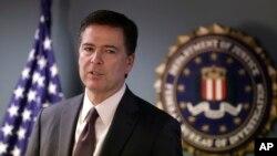 FBI Başkanı James Comey terör zanlılarının tutuklandığını açıklarken