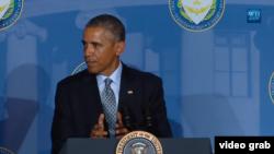 美国总统奥巴马(白宫视频截图)