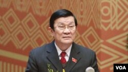 Presiden Vietnam Truong Tang Sang melawat ke Filipina hari ini (foto:dok).