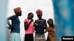 Campo de migrantes en Minkaman, Lakes State, Sudán del Sur.