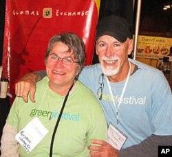 Kirsten Moller and Kevin Danaher say Global Exchange builds people-to-people ties
