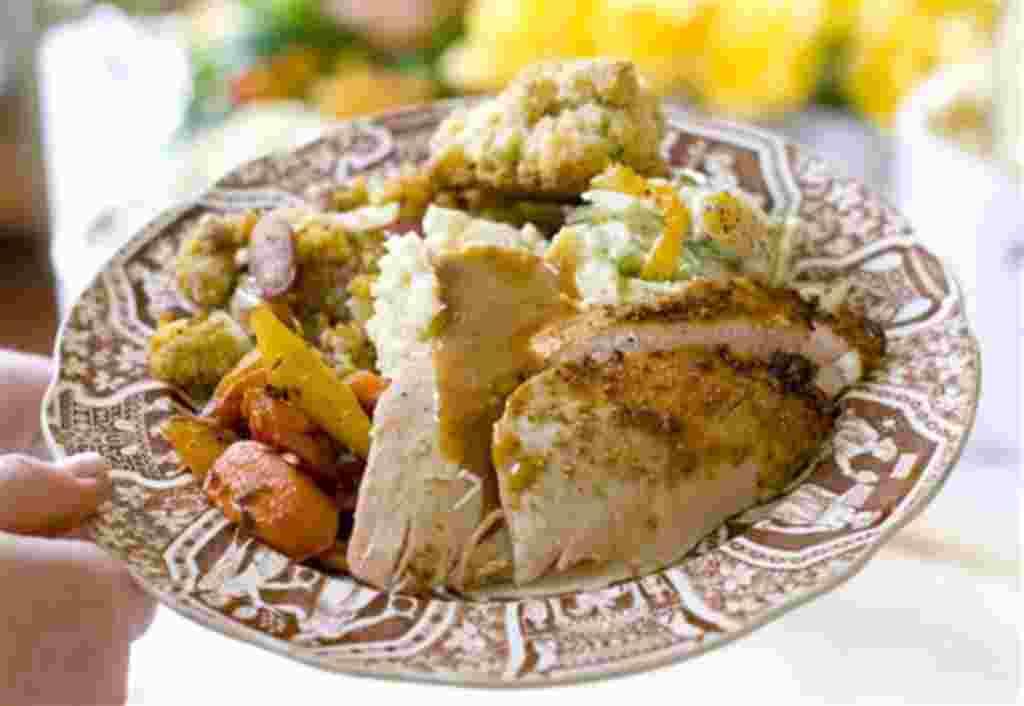 En 2010, los productores nacionales de pavo criaron 242 millones de pavos para esta la celebración del Día de Acción de Gracias.