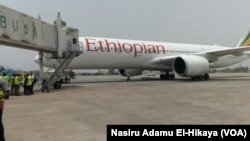 Jirgin Ethiopia da ya fara sauka yau a Abuja