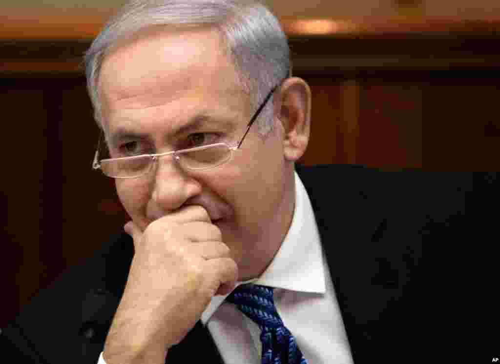 Israeli Prime Minister Benjamin Netanyahu called the EU move a step in the right direction, but warned it is not possible to know what effect the embargo will have on Iran.