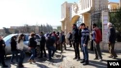 Suriye'de IŞİD'den kaçan Hristiyan mülteciler