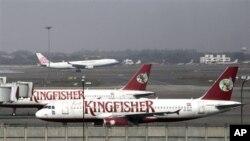 Dalam setahun belakangan, Kingfisher Airlines terus mengalami kerugian sekitar 1,5 miliar dolar dan terpaksa mengurangi operasinya (foto: Dok).