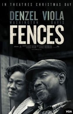 fences movie poster