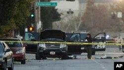 Automobil u kojem su bili osumnjičeni tokom obračuna sa policijom