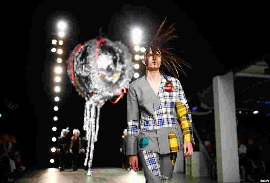 هفته مد لباسهای مردانه در لندن