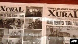 """""""Xural"""" qəzetinin baş redaktoru Əvəz Zeynallı barəsində həbs qətimkan tədbiri seçilib (audio)"""