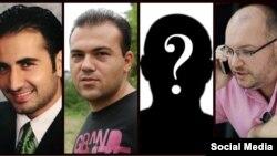 جیسن رضائیان، امیر میرزا حکمتی، نصرتالله خسروی و سعید عابدینی چهار آمریکایی آزاد شده