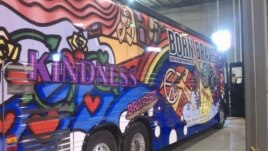 Lady Gaga's Born Brave tour bus