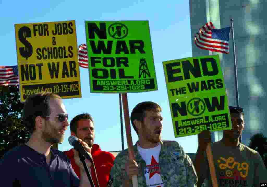 10-ая годовщина войны в Афганистане