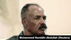 Le président de l'Erythrée Isaias Afwerki, le 11 juin 2015 à Khartoum. (REUTERS/Mohamed Nureldin Abdallah)