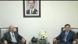 中国特使抵达叙利亚推动和平计划